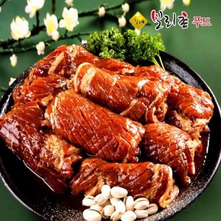 수제양념 국내산 돼지갈비 양념왕구이 3kg선물세트 한돈 숯불 왕갈비 구이