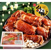 전국택배 국내산 양념 돼지왕갈비 18kg 40대 캠핑고기 숯불왕구이 양념돼지갈비 대용량도매